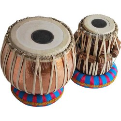 KYW Tabla Set n.14, Bayan in rame 5 Kg