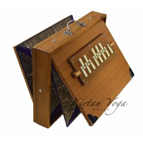 KYW Professional Shruti Box, TEAK wood