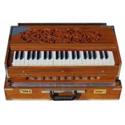 KYW Calcutta Harmonium Portable, 3 set of Reeds